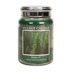 Village Candle Dišeča sveča v steklu Balzamova jelka 397 g