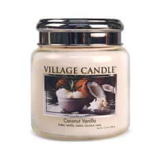 Village Candle Dišeča sveča v Coconut vanilije 390 g
