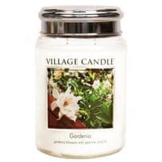 Village Candle Dišeča sveča v kozarcu Gardenia 645 g