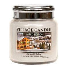 Village Candle Dišeča sveča v steklu Aspen Holiday 389 g