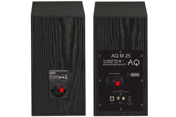 aktywne głośniki stereo aq m25 Bluetooth usb wejście rca pilot najlepszej jakości dźwięk moc 2x30 w przegrody bassreflex