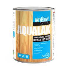 SLOVLAK Aqualak mat 0,7L - vodouriediteľný akrylátový transparentný lak na drevo