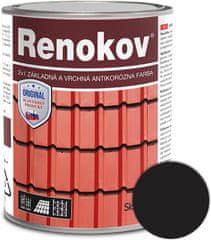 SLOVLAK Renokov čierny 2,5kg - antikorózna farba na kov