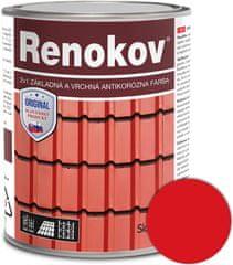 SLOVLAK Renokov červený 2,5kg - antikorózna farba na kov
