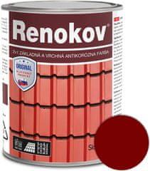SLOVLAK Renokov červenohnedý 10kg - antikorózna farba na kov