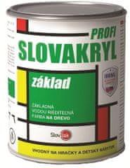 SLOVLAK Slovakryl E 0010 0,75kg základ