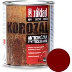 SLOVLAK Korozal Základ S2000 0840 červenohnedý 1kg