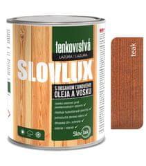 SLOVLAK Slovlux tenkovrstvá lazúra na drevo teak 0,7L
