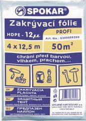 SPOKAR  plachta 4x12,5m 12MY HDPE