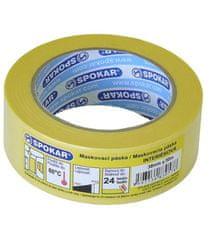 SPOKAR  maskovacia páska interiérová 48mmx50m - 24h/60°C