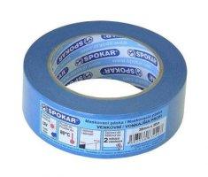 SPOKAR  maskovacia páska exteriérová PROFI 38mmx50m - 5d/60°C