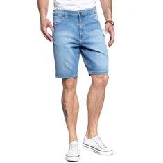 Wrangler Wrangler krátke nohavice modrá
