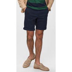 Selected Homme SELECTED HOMME šortky tmavo modrá