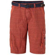 Lerros šortky tehlovo červená
