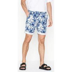 Selected Homme SELECTED HOMME šortky biela modrá