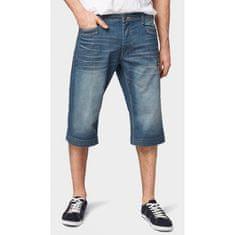 Tom Tailor Denim  šortky modrá