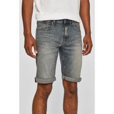 Tommy Jeans Tommy Jeans šortky Spratý denim