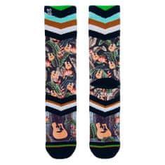 Xpooos Hawaje niebieskie skarpetki, Skarpety Hawaii blues   60227   4346