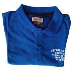 Petrol Industries Petrol Industries polokošeľa modrá