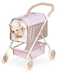 DeCuevas Moj prvi otroški voziček za kužka in čivavo 86143 DIDI