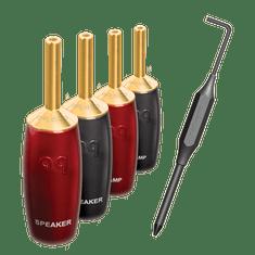 AudioQuest 507 Series Banana Gold/set 4ks BAN507FRG