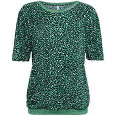 Summum Woman  blúzka čierna zelená