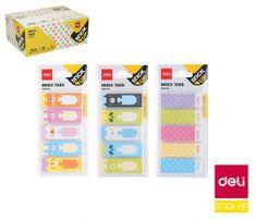 Deli stationery Záložky STICK UP mini set DELI EA64002