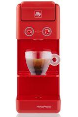 illy kávovar na kapsule Y3.3 - červená