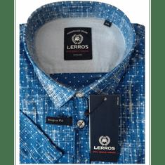 Lerros košeľa modro biele
