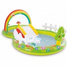 Intex Nafukovací bazének MY GARDEN 290 x 180 x 104 cm zelená