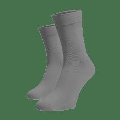 BENAMI Vysoké ponožky Světle šedé Světle šedá Bavlna 35-38