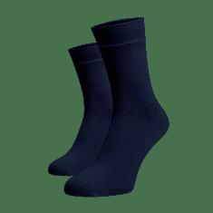 BENAMI Vysoké ponožky Tmavě modré Tmavě modrá Bavlna 35-38