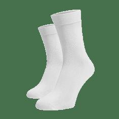 BENAMI Vysoké ponožky Bílé Bílá Bavlna 35-38