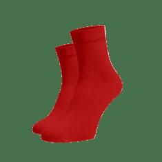 BENAMI Střední ponožky červené Červená Bavlna 35-38