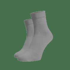 BENAMI Střední ponožky světle šedé Světle šedá Bavlna 35-38