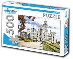 Tourist Edition Puzzle Hluboká 500 dielikov (č.6)