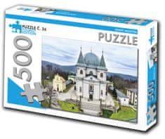 Tourist Edition Puzzle Hostýn 500 dielikov (č.26)