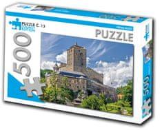 Tourist Edition Puzzle Hrad Kost 500 dielikov (č.13)