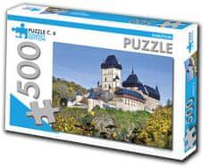Tourist Edition Puzzle Karlštejn 500 dielikov (č.8)