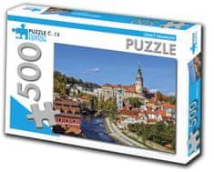 Tourist Edition Puzzle Český Krumlov 500 dielikov (č.12)