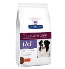 Hill's I/D Digestive Care Low Fat hrana za pse s piščancem, 1,5 kg