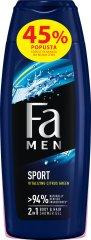 Fa Men gel za prhanje Sport, 2 x 250 ml