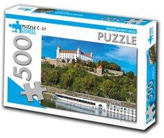 Tourist Edition Puzzle Bratislavský hrad 500 dielikov (č.27)