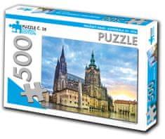 Tourist Edition Puzzle Katedrála sv. Víta, Praha 500 dielikov (č.28)