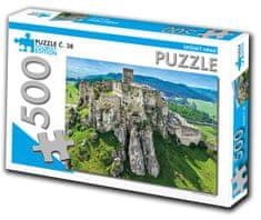 Tourist Edition Puzzle Spišský hrad 500 dielikov (č.38)
