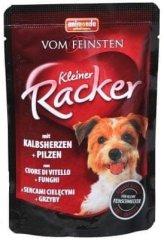 Animonda saszetki dla psa VF Kleiner Racker cielęce serca + grzyby 16 x 85g