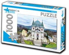 Tourist Edition Puzzle Hostýn 1000 dielikov (č.26)