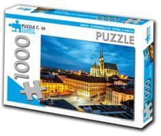 Tourist Edition Puzzle Katedrála sv. Petra a Pavla, Brno 1000 dielikov (č.30)