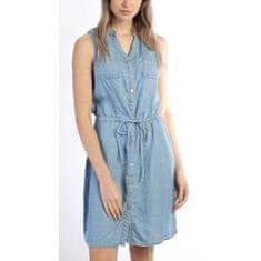 Il Dolce Jeans IL Dolce šaty Modro belasé