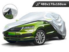 Carmotion Plachta na automobil SUV, veľkosť L, 480 x 175 x 150 cm, trojvrstvová s reflexnými prvkami, Carmotion